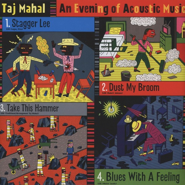 Taj Mahal - An Evening Of Acoustic Music (2 LP)