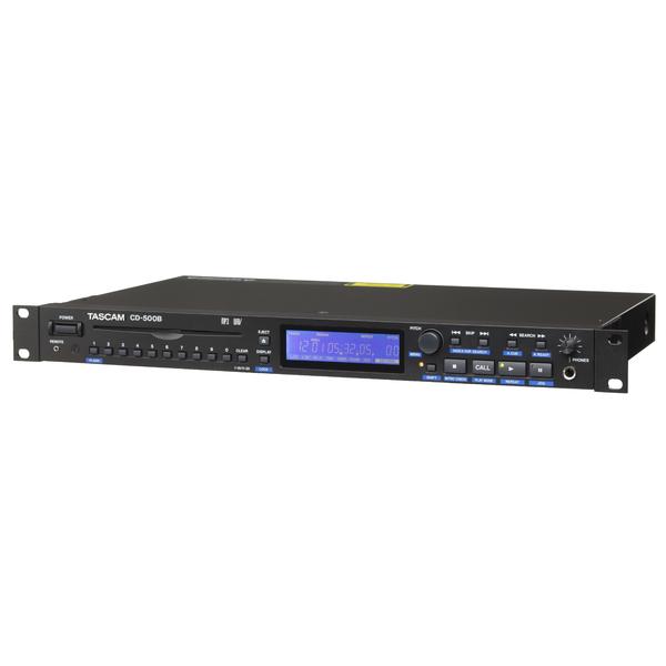Профессиональный проигрыватель TASCAM CD-500B