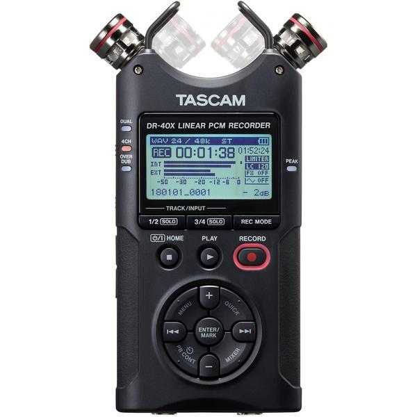 Портативный рекордер TASCAM DR-40X