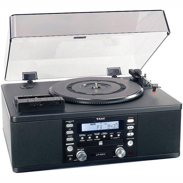 лучшая цена Виниловый проигрыватель TEAC LP-R500 Black