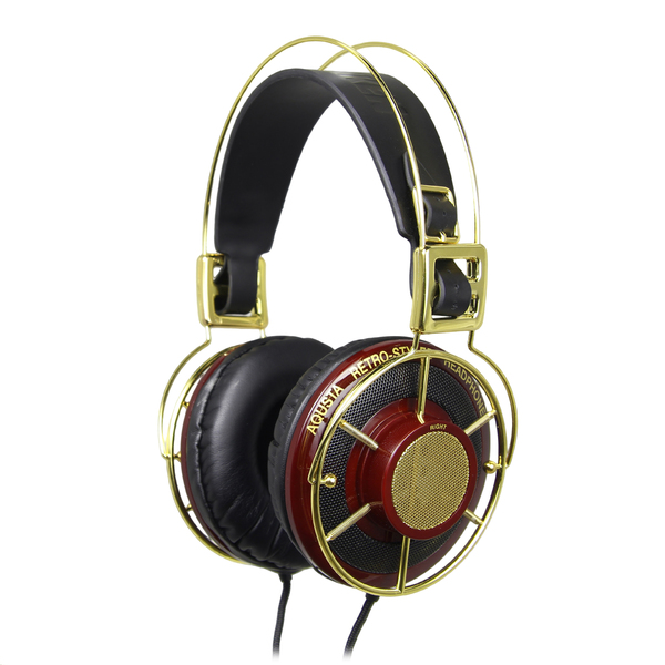 Охватывающие наушники Telefunken Aqusta Gold рейка открытого типа албес an 85a 3 м суперхром люкс