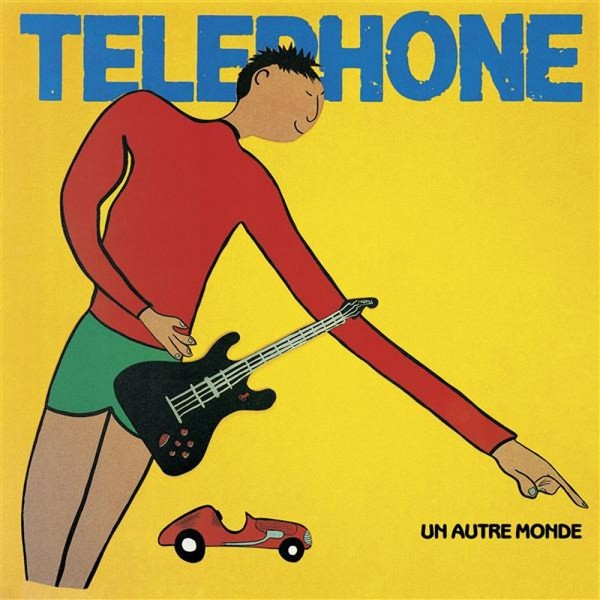 Telephone Telephone - Un Autre Monde (180 Gr) panasonic kx tg1611rur dect phone digital cordless telephone wireless phone system home telephone