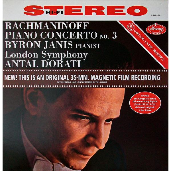 Rachmaninov RachmaninovAntal Dorati The London Symphony Orchestra - Rachmaninoff: Piano Concerto No. 3 цена и фото