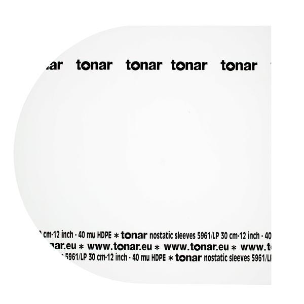 Конверт для виниловых пластинок Tonar 12 LP INNER SLEEVE (50 шт.)