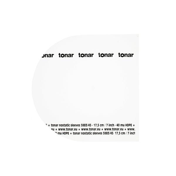 Конверт для виниловых пластинок Tonar 7 45 RPM INNER SLEEVE (50 шт.)