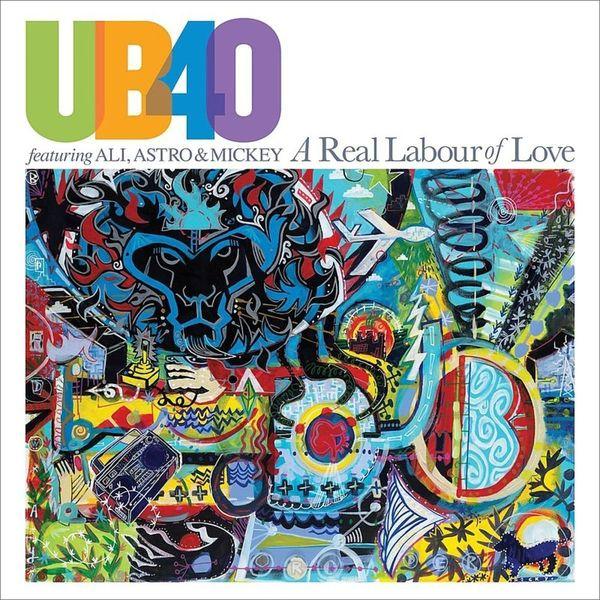 UB40 UB40 - A Real Labour Of Love (2 LP) ub40 cardiff