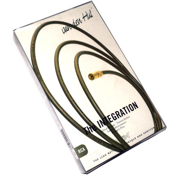 Фото - Кабель межблочный аналоговый RCA Van den Hul Integration Hybrid 1.2 m кабель