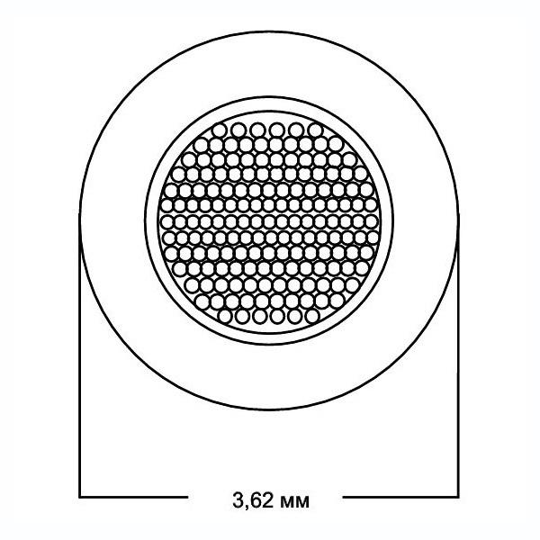 Кабель акустический в нарезку Van den Hul SCS-12 Yellow