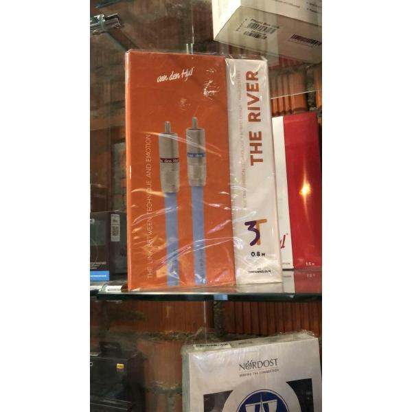Кабель межблочный аналоговый RCA Van den Hul The River 0.8 m (витрина) цена и фото