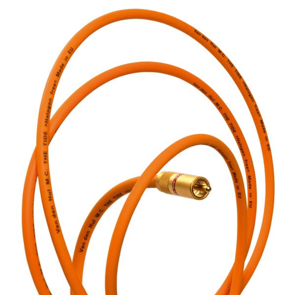 Фото - Кабель межблочный аналоговый RCA Van den Hul The Tide 1 m кабель антенный van den hul the name antenna 4 m