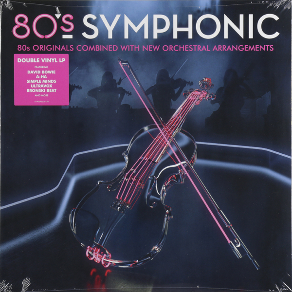Various Artists Various Artists - 80s Symphonic (2 LP) би 2 – prague metropolitan symphonic orchestra vol 2 cd