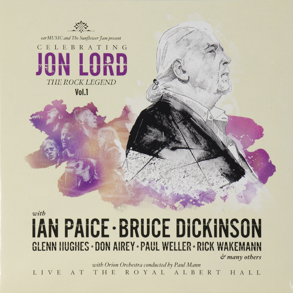 Deep Purple PurpleVarious artists - Celebrating Jon Lord, The Rock Legend, Vol.1