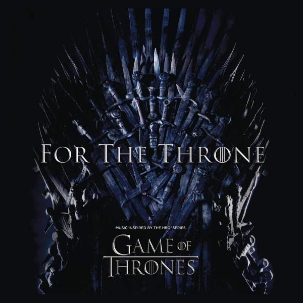 Various Artists - For The Throne (music Inspired By Hbo Series Game Of Thrones) (colour)