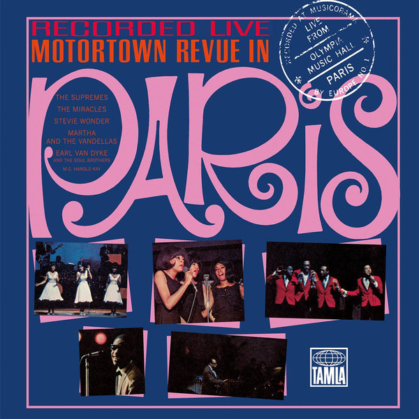 Various Artists - Motortown Revue In Paris (3 LP)