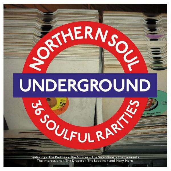 Various Artists Various Artists - Northern Soul Underground (2 Lp, Colour) soul asylum soul asylum live from liberty lunch austin tx 2 lp