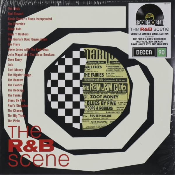 Various Artists Various Artists - The R b Scene (2 LP) цена и фото