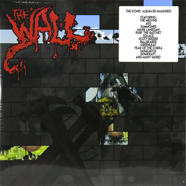Various Artists Various Artists - The Wall (redux) (2 LP) цена и фото