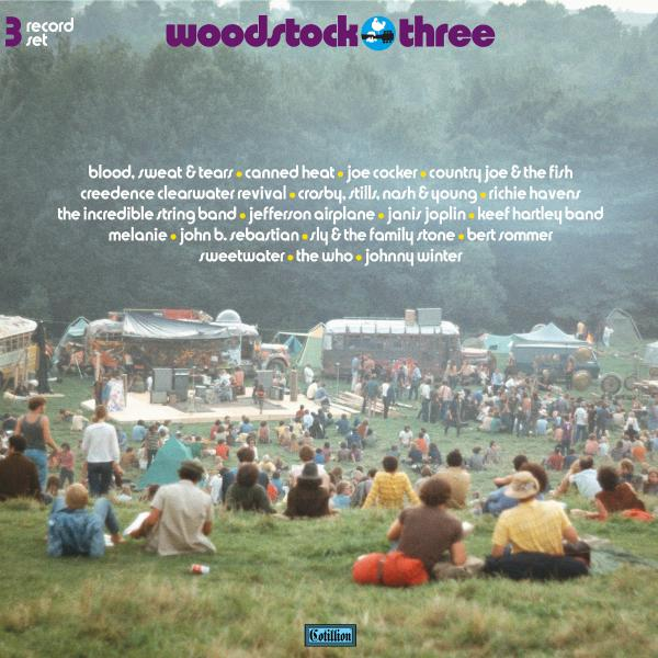 Various Artists - Woodstock Iii (3 Lp, Colour)