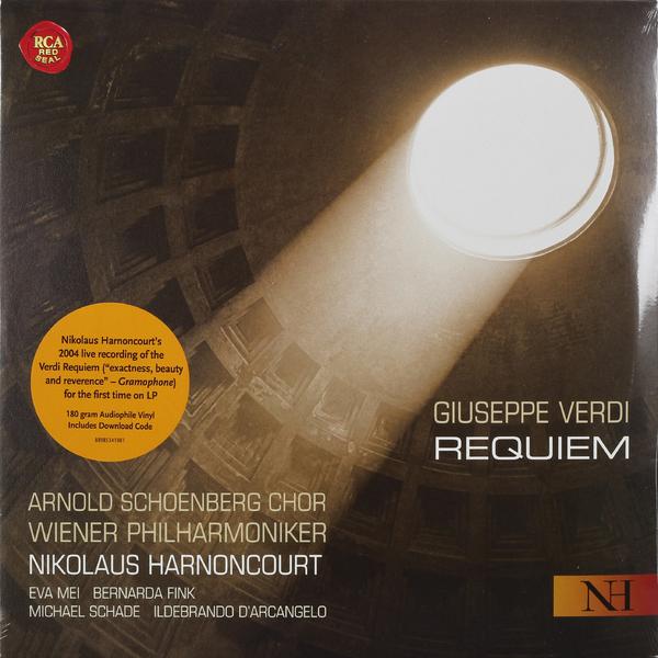 VERDI VERDINikolaus Harnoncourt - : Requiem (2 LP) akademisk orkester akademisk orchester dvorak requiem 2 cd