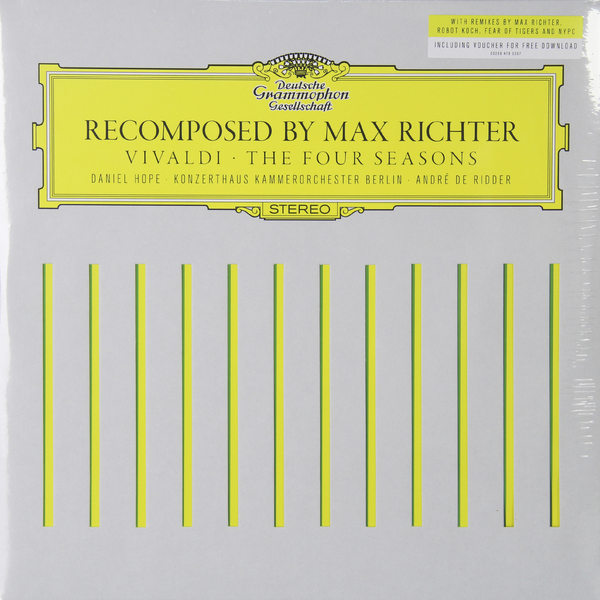 Vivaldi VivaldiMax Richter - : The Four Seasons Recomposed (2 LP)