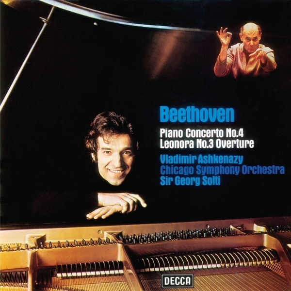 Beethoven BeethovenVladimir Ashkenazy - : Piano Concerto No.4 In G; Overture leonore No.3