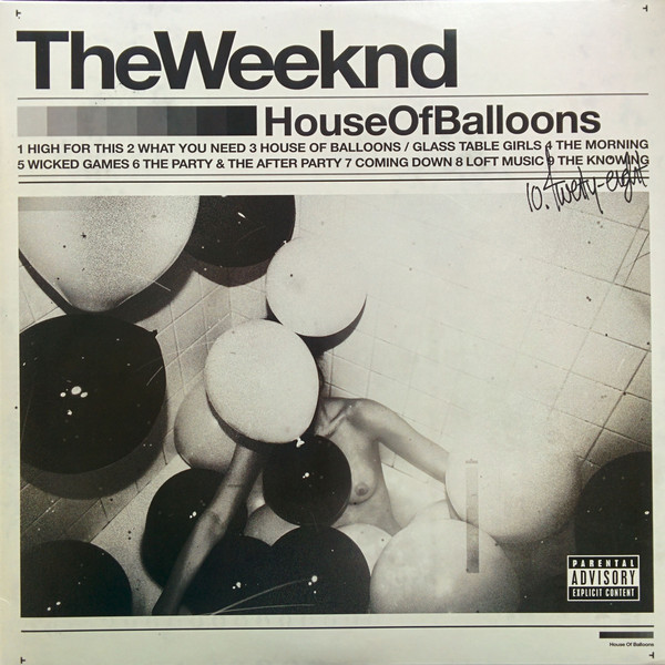 цена Weeknd Weeknd - House Of Balloons (2 LP) в интернет-магазинах