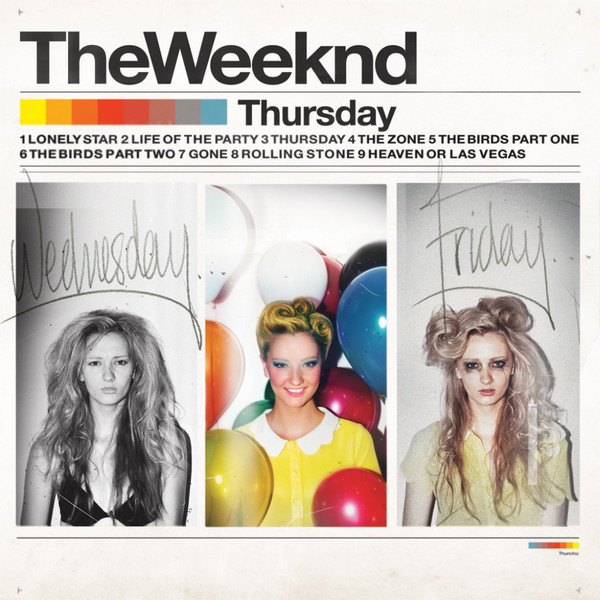 цена Weeknd Weeknd - Thursday (2 LP) в интернет-магазинах