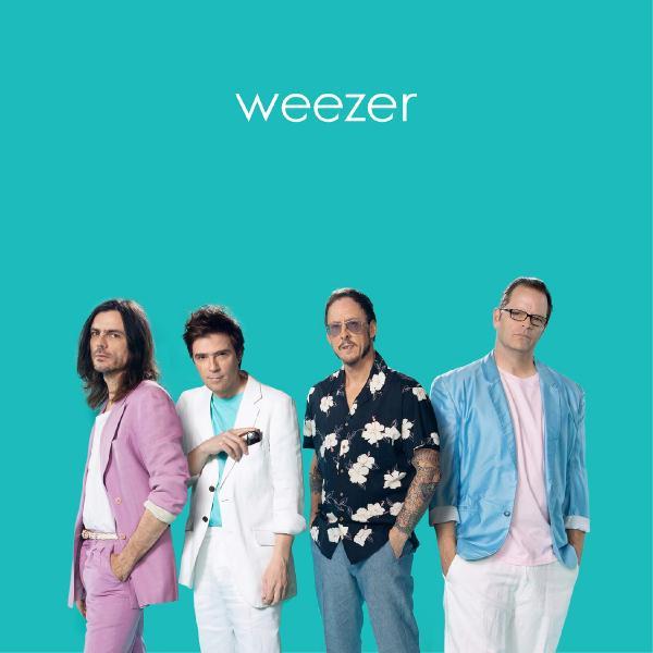Weezer Weezer - Teal weezer weezer pacific daydream