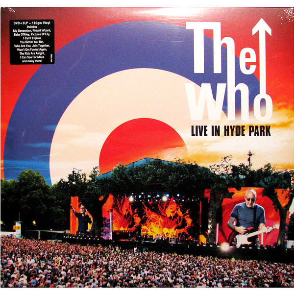 WHO WHO - Live At Hyde Park (3 LP) park live