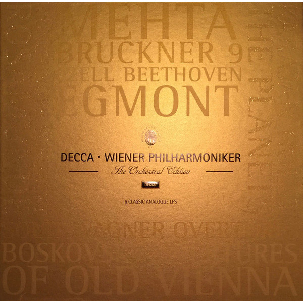Wiener Philharmoniker - Edition (6 Lp Box)