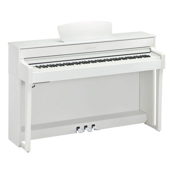лучшая цена Цифровое пианино Yamaha CLP-635WH