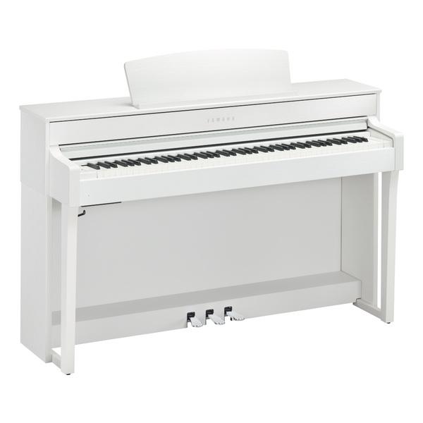 лучшая цена Цифровое пианино Yamaha CLP-645WH