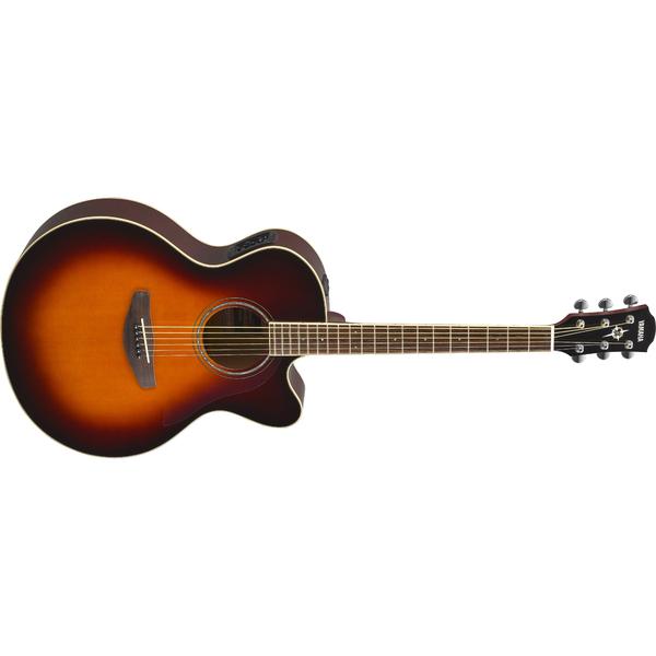 лучшая цена Гитара электроакустическая Yamaha CPX600 Old Violin Sunburst
