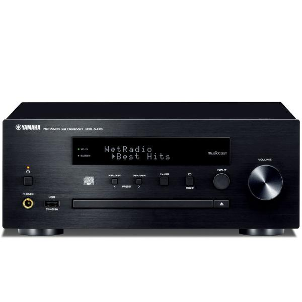 CD ресивер Yamaha CRX-N470 Black