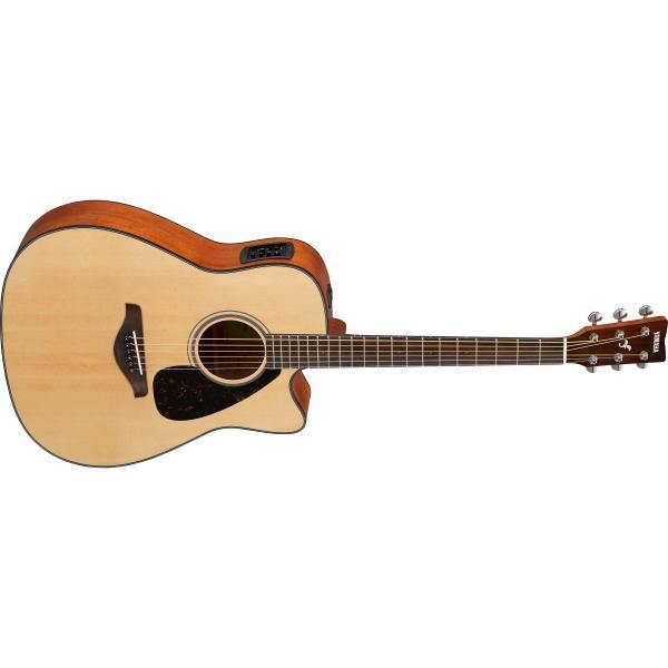 лучшая цена Гитара электроакустическая Yamaha FGX800C Natural