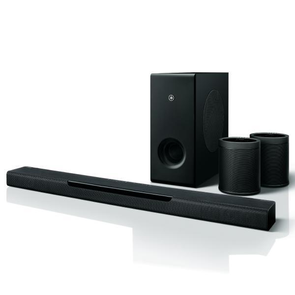 Саундбар Yamaha MusicCast Bar 400 (YAS-408) Black + 2 x 20