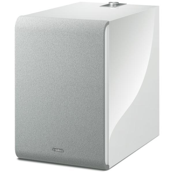Активный сабвуфер Yamaha MusicCast SUB 100 White сабвуфер yamaha yst fsw100 black