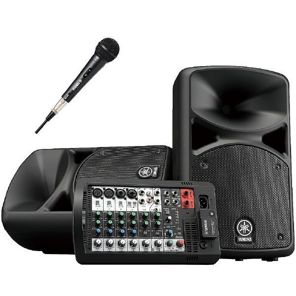 Комплект профессиональной акустики Yamaha STAGEPAS 400BT1M