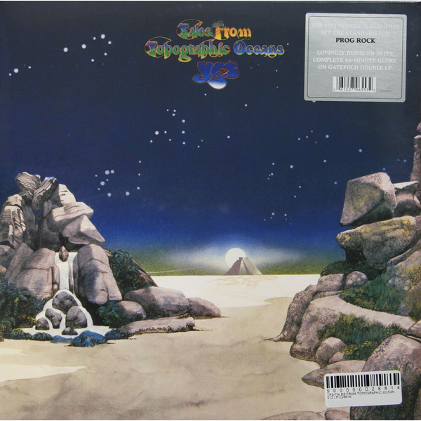 YES YES - Tales From Topographic Oceans (2 LP) yes yes tales from topographic oceans 2 lp