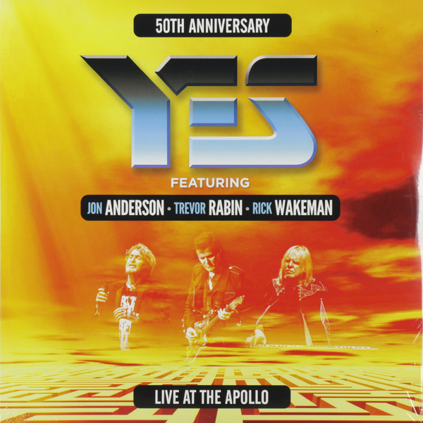 YES YES - Live At The Manchester Apollo (3 LP) yes yes the yes album lp