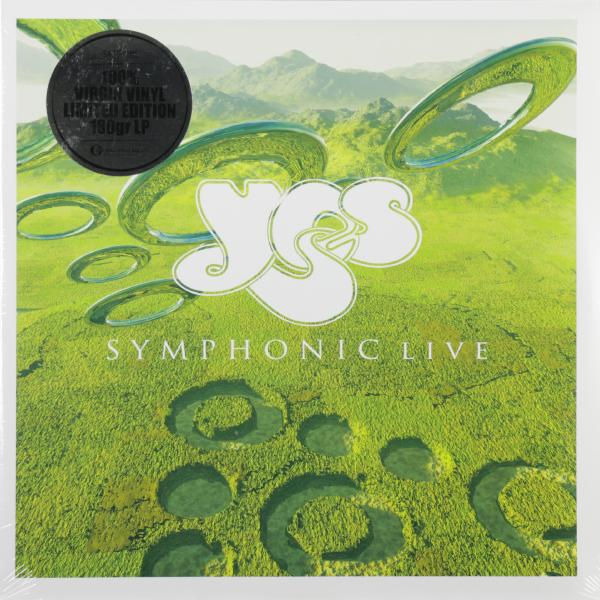 YES YES - Symphonic Live (2 LP) yes yes the yes album lp
