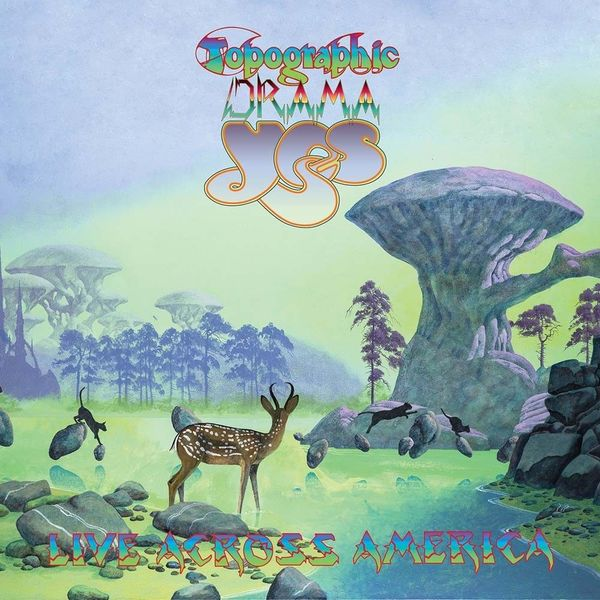 YES YES - Topographic Drama - Live Across America (3 Lp, 180 Gr) yes yes tales from topographic oceans 2 lp