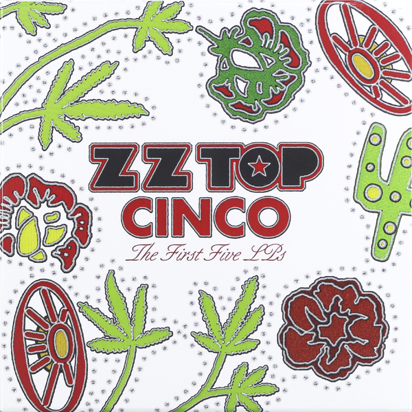 лучшая цена Zz Top Zz Top - Cinco: The First Five Lp's (5 Lp, 180 Gr)