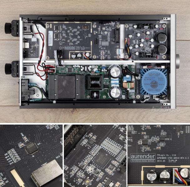 Тест USB-ЦАПа/усилителя Aurender X725