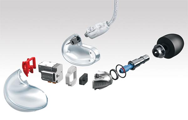Cкидки на весь ассортимент внутриканальных и охватывающих наушников Shure 1c7d74933e680