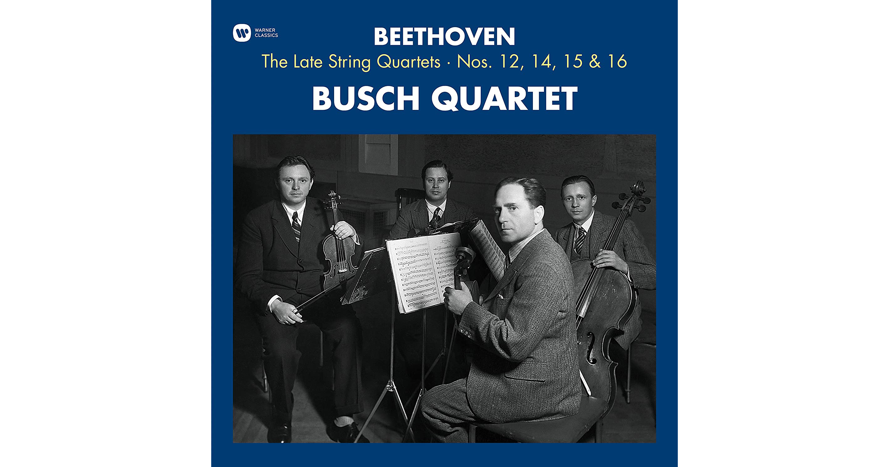 Виниловая пластинка BEETHOVEN - BEETHOVEN: THE LATE STRING QUARTETS (180 GR, 3 LP)