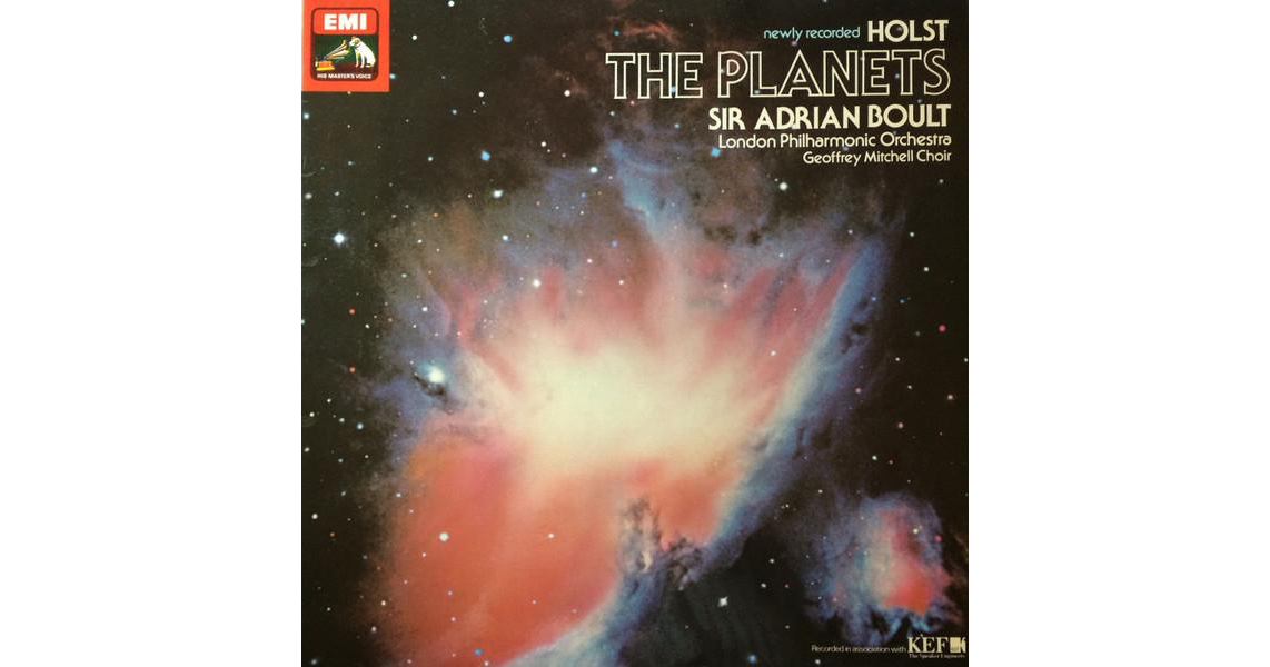 Виниловая пластинка SIR ADRIAN BOULT - HOLST: THE PLANETS (180 GR)