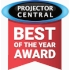 ProjectorCentral: Best of the Year Award