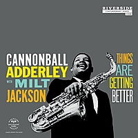 Виниловая пластинка ADDERLEY CANNONBALL - THINGS ARE GETTING BETTER