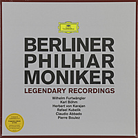 Виниловая пластинка BERLINER PHILHARMONIKER - LEGENDARY RECORDINGS (6 LP)